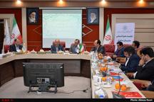 نشست مدیران عامل شرکتهای نمایشگاهی کشور در استانداری قزوین