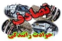 بی توجهی راننده به جلو علت تصادف خونین در جاده تربت حیدریه