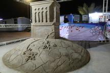 سمپوزیوم ملی ساخت مجسمه های شنی در بافق پایان یافت