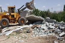 ساخت و ساز غیرمجاز در 3 هکتار زمین زراعی ارومیه تخریب شد