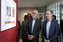 نمایشگاه کاریکاتور جامعه ایمن در مشهد گشایش یافت