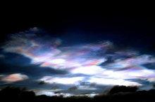 ابرهای رنگی در آسمان چین + فیلم