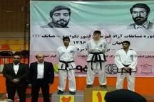 درخشش هوگوپوشان کرمانی در مسابقات تکواندو قهرمانی کشور