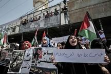 عکس/  هشدار خشم به محمود عباس