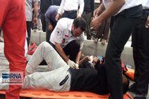 ۱۰ تن در سوانح جاده ای کبودراهنگ مجروح شدند