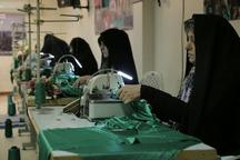 کارگاه دوخت لباس های شیرخوارگان حسینی (ع) در قزوین افتتاح شد