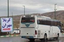هفت هزار زائر حسینی توسط ناوگان جاده ای کرمان منتقل شدند