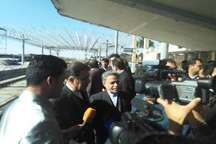 راه آهن یزد 30درصد بار کشور را حمل می کند