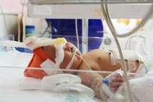 تولد نوزاد 6 کیلو و 100گرمی در بیمارستان کنگان بوشهر