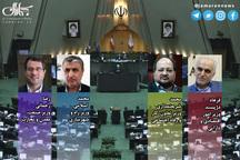 هر چهار وزیر پیشنهادی روحانی رای آوردند: دژپسند وزیر اقتصاد، شریعتمداری وزیر کار، محمد اسلامی وزیر راه، رضا رحمانی وزیر صمت