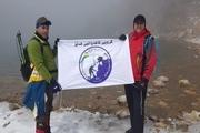 صعود مشترک کوهنوردان عراقی و مهابادی به قله سبلان