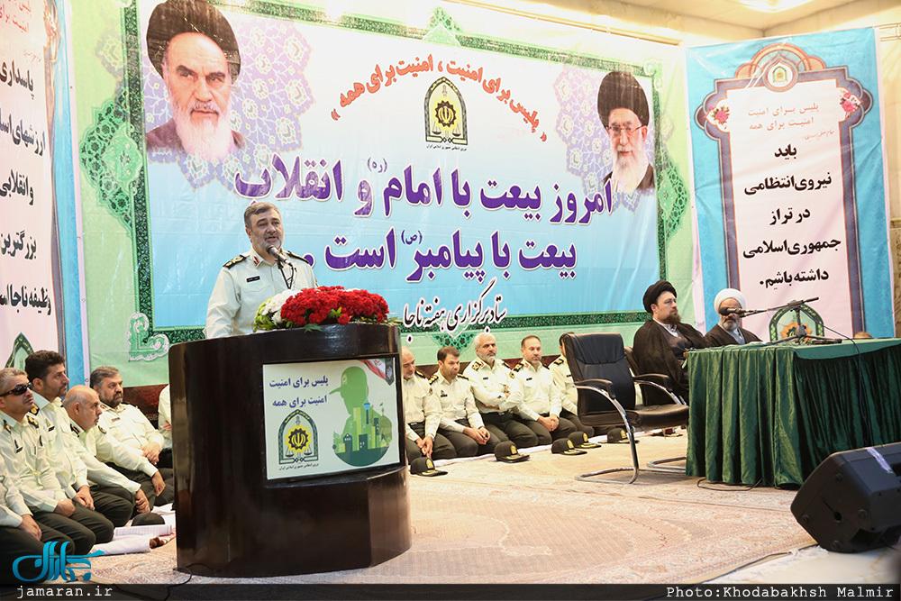 سردار اشتری: امنیت جمهوری اسلامی ایران در منطقه پر تلاطم خاورمیانه مثال زدنی است