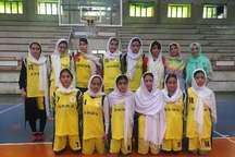 تهران، قهرمان مسابقات مینی بسکتبال بانوان قهرمانی منطقه یک کشور