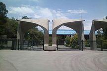 زخمی بر «سر در» دانشگاه تهران