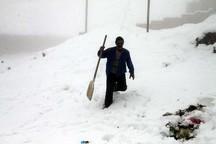 برف وکولاک، راه 50 روستای استان زنجان را بست