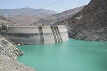 ذخیره آب سدهای کرج و طالقان 6 درصد کاهش یافته است