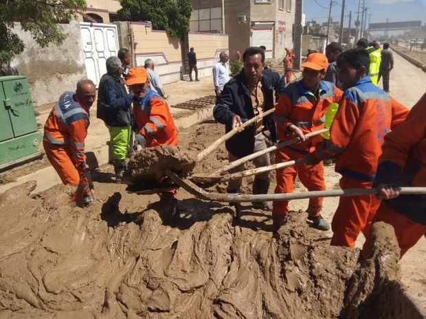 معاون شهردار: بیشتر معابر شیراز از آثار سیلاب پاکسازی شد