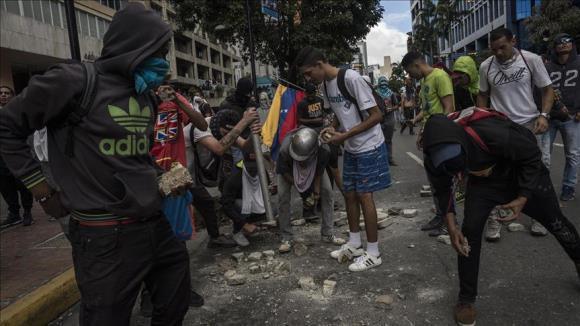 خروج دیپلماتهای آمریکایی از ونزوئلا