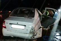 واژگونی خودرو در جاده  اهواز - خرمشهر ۶ مصدوم بر جا گذاشت