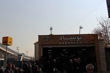 تجاوز به حریم ریلی در ایستگاه مترو نوبنیاد یک مصدوم داشت