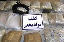 کشف 18 کیلو مواد مخدر شهرستان در سوادکوه