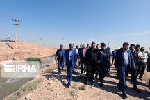 ضربالعجل دادستان شیراز برای رفع آلودگی رودخانه چنار راهدار
