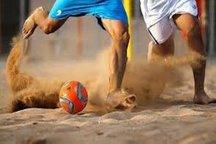 گناوه میزبان گروه 4 فوتبال ساحلی جوانان کشور شد