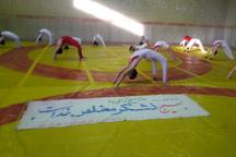 جشنواره ژیمناستیک در شهرستان نیر برگزار شد
