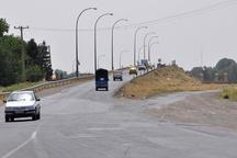 طولانی شدن ساخت پل شرکت نفت قزوین