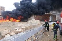 آتش نشانی بجنورد تجهیزات مهار آتش تانکرهای سوخت را ندارد