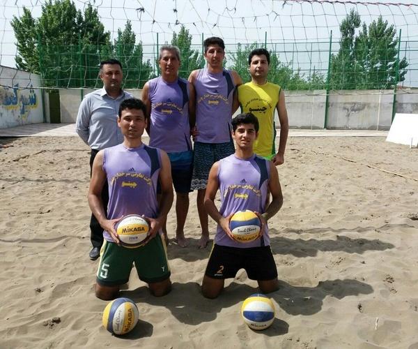 تیم والیبال ساحلی کارگران ایران به مسابقات المپیک کارگری لتونی راه یافت