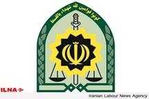 دستگیری سارق پلاک خودرو در بوئین زهرا