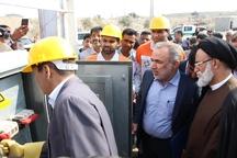 5 طرح برق رسانی در رودان به بهره برداری رسید