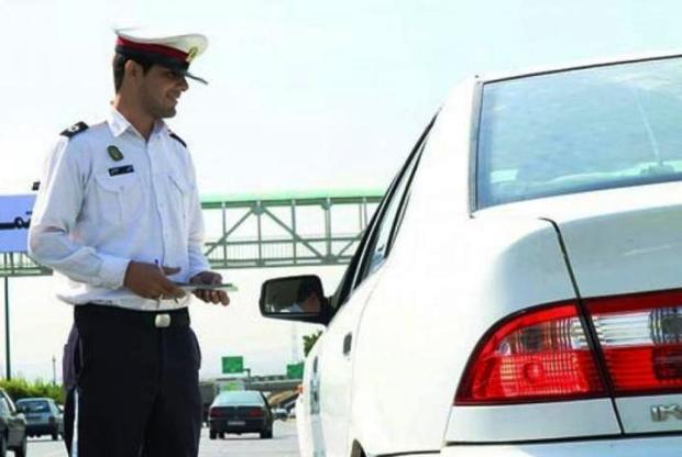 رئیس پلیس راهور ایلام: خودروهای پلاک مخدوش اجازه تردد ندارند