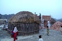 حذف خانههای کپری در روستاهای مرزی سیستان و بلوچستان