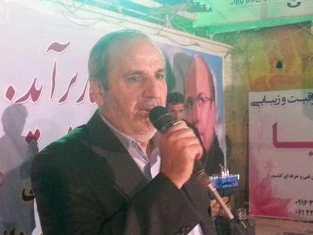 ستاد انتخاباتی محمدباقر قالیباف در شوش برپا شد