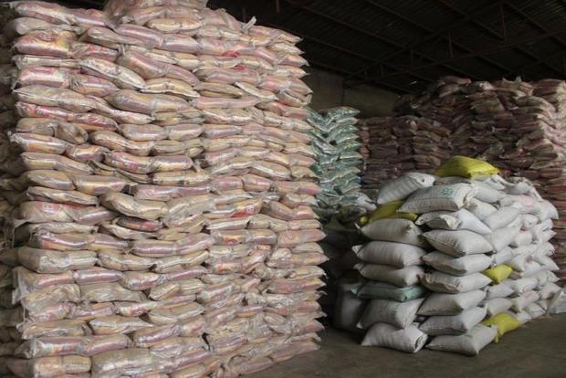 بیش از 23 تن برنج قاچاق در کنگاور کشف شد