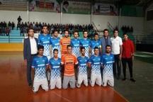 تساوی مارون کهگیلویه در لیگ دسته دوم فوتسال مقابل حریف خوزستانی