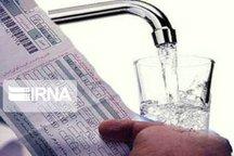 مشترکان زلزله زده از خرداد امسال باید آب بهای مصرفی را پرداخت کنند