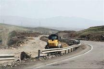 عملیات اجرایی رفع نقطه حادثه خیر جاده اراک - سلفچگان آغاز شد