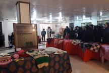 نمایش تولیدات هنری و توانمندیهای بانوان مازندران در نمایشگاه مهر و ماه