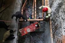 مصدومیت کارگر در پی سقوط از ارتفاع 16 متری