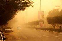 وقوع دوباره پدیده گرد و خاک در خوزستان