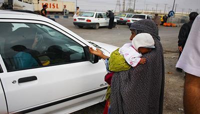 رها شدن 265 متکدی در بندرعباس پس از جمع آوری