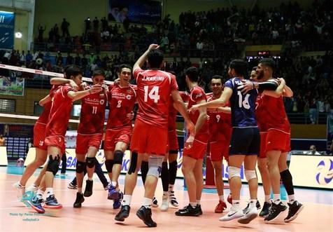حضور تیم والیبال امید ایران در مسابقات قهرمانی آسیا