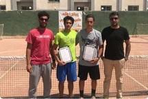 تنیسور ارومیه ای نایب قهرمان مسابقات مناطق پنجگانه کشور شد