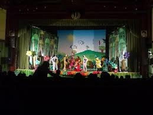 آتش سوزی در تالار آفتاب اهواز  نمایش روی صحنه نیمه تمام ماند