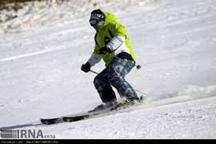 رقابتهای اسکی آلپاین در مشهد برگزار شد