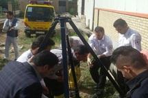 فوریت های پزشکی آبیک مرد سقوط کرده در چاه 30متری را نجات داد