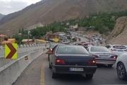 ترافیک در محورهای مازندران سنگین است